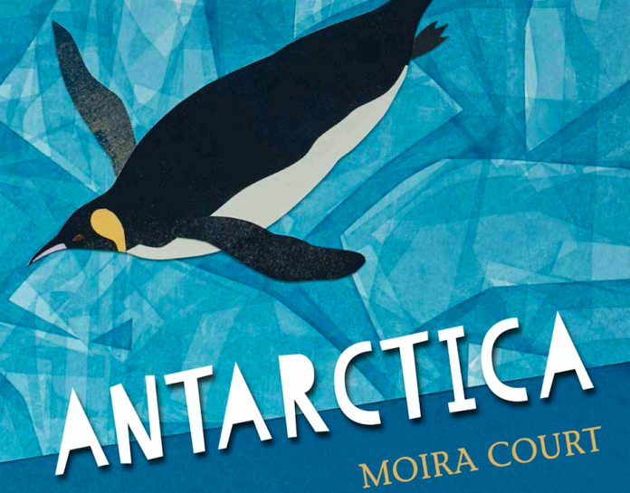 Antarctica by Moira Court book cover